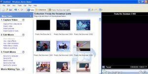 Windows XP Windows Movie Maker