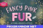CreativeMarket – Fanсy Pink Fur Photoshop Effect indir