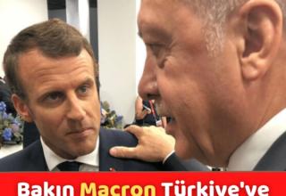 Makron Türkiye'ye Boyun Eğdi