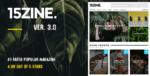 15Zine – Hd Magazine Newspaper WordPress Tema
