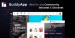 BuddyApp – Mobile First Community WordPress Tema