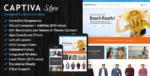 Captiva – Responsive WordPress Woocommerce Tema
