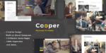 Cooper – Creative Responsive Personal Portfolio WordPress Tema