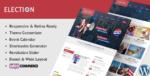 Election – Political WordPress Tema