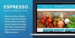 ESPRESSO – A WordPress Theme for Restaurants Tema