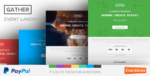 Gather – Event & Conference WP Landing Page Tema