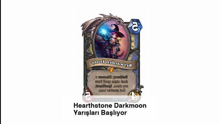 Hearthstone Darkmoon Yarışları Başlıyor