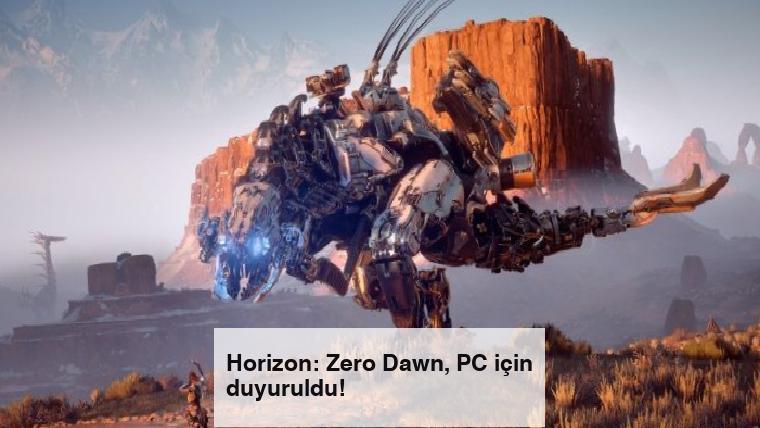 Horizon: Zero Dawn, PC için duyuruldu!