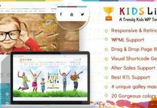 Kids Life | Children WordPress Tema