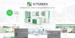KitGreen – Modern Kitchen & Interior Design WordPress Tema