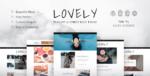 Lovely – Elegant & Simple Blog Tema