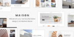 Maison – A Modern Theme For Architects And Interior Tema