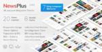NewsPlus – News and Magazine WordPress Tema