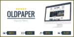 OldPaper – Ultimate Magazine & Blog Theme Tema