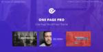 One Page Pro – Multi Purpose Onepage WordPress Tema