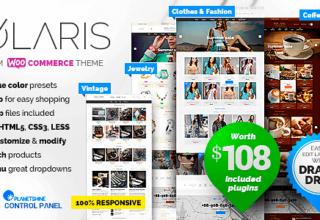 Polaris – Modern & Powerful Woocommerce Theme