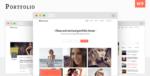 Portfolio – Minimal Portfolio WordPress Tema