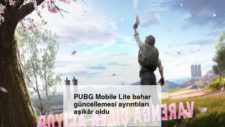 PUBG Mobile Lite bahar güncellemesi ayrıntıları aşikâr oldu