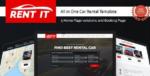 Rentit – Car / Bike / Vehicle Rental WordPress Tema