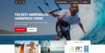 Shaka – A beach business WordPress Tema