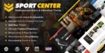 Sport Center – Multipurpose Events & Education WordPress Tema