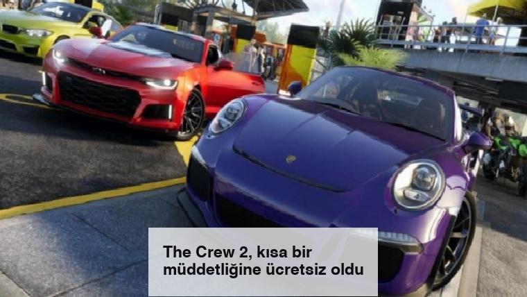 The Crew 2, kısa bir müddetliğine ücretsiz oldu