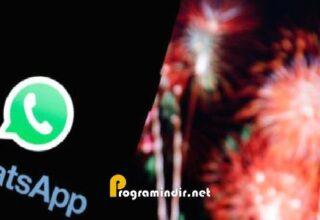 WhatsApp, 2020'nin Son Gününde Rekorlarına Bir Yenisini Daha Ekledi