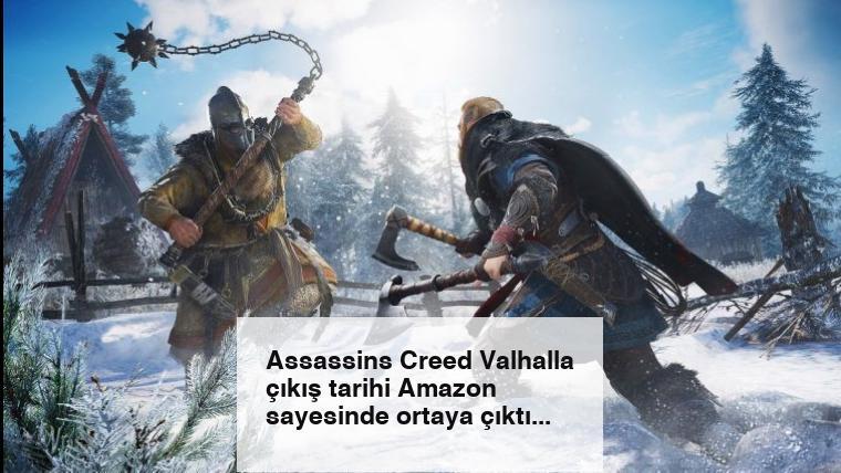 Assassins Creed Valhalla çıkış tarihi Amazon sayesinde ortaya çıktı