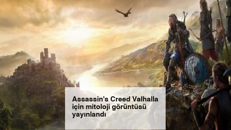 Assassin's Creed Valhalla için mitoloji görüntüsü yayınlandı