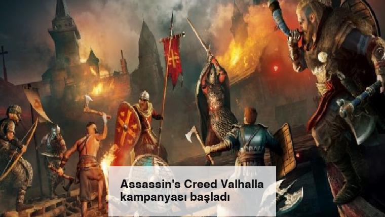 Assassin's Creed Valhalla kampanyası başladı