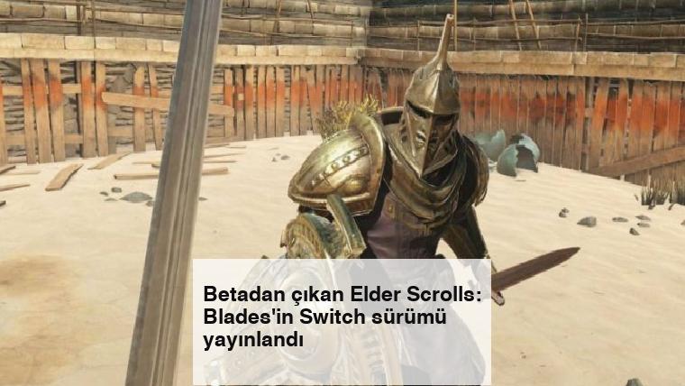 Betadan çıkan Elder Scrolls: Blades'in Switch sürümü yayınlandı