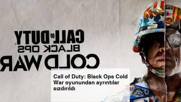Call of Duty: Black Ops Cold War oyunundan ayrıntılar sızdırıldı