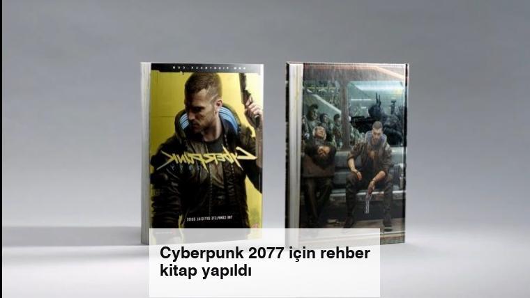 Cyberpunk 2077 için rehber kitap yapıldı