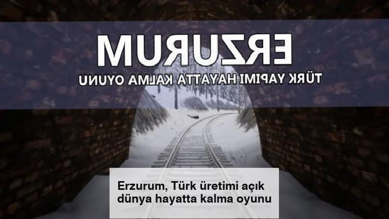 Erzurum, Türk üretimi açık dünya hayatta kalma oyunu