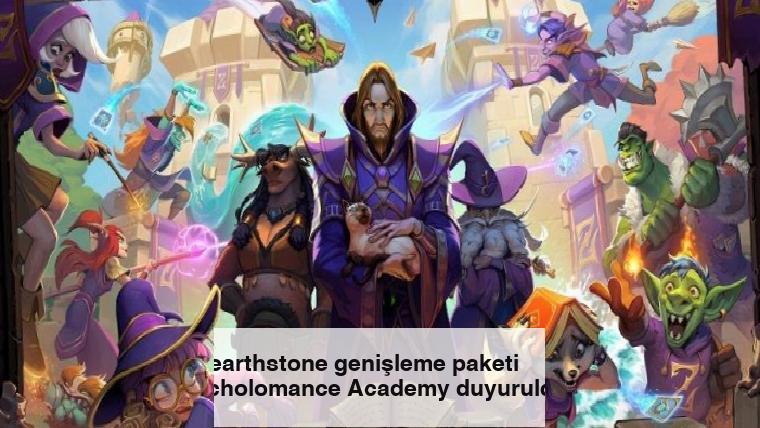 Hearthstone genişleme paketi Scholomance Academy duyuruldu