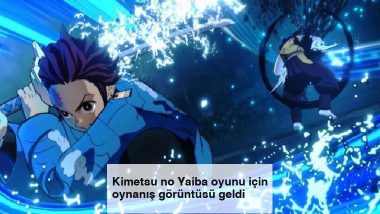 Kimetsu no Yaiba oyunu için oynanış görüntüsü geldi