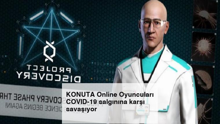 KONUTA Online Oyuncuları COVID-19 salgınına karşı savaşıyor