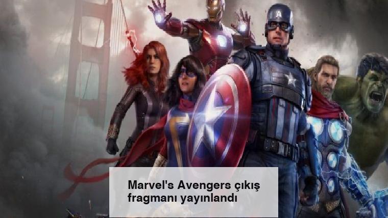 Marvel's Avengers çıkış fragmanı yayınlandı