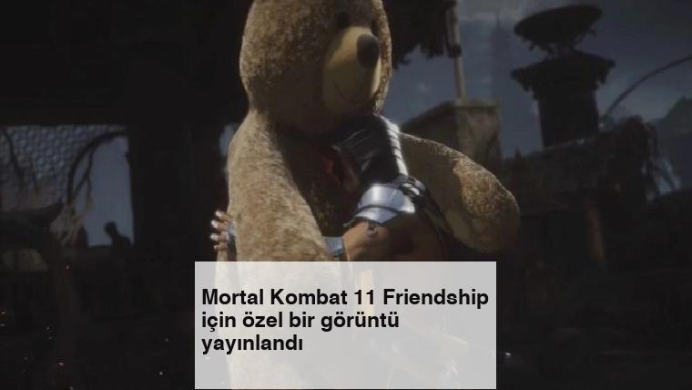 Mortal Kombat 11 Friendship için özel bir görüntü yayınlandı