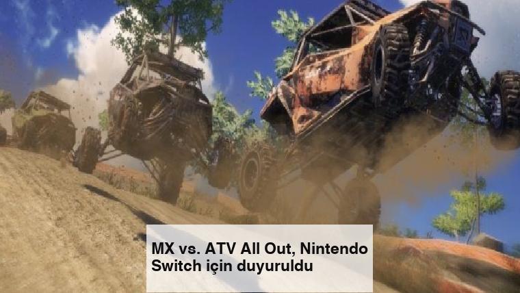 MX vs. ATV All Out, Nintendo Switch için duyuruldu