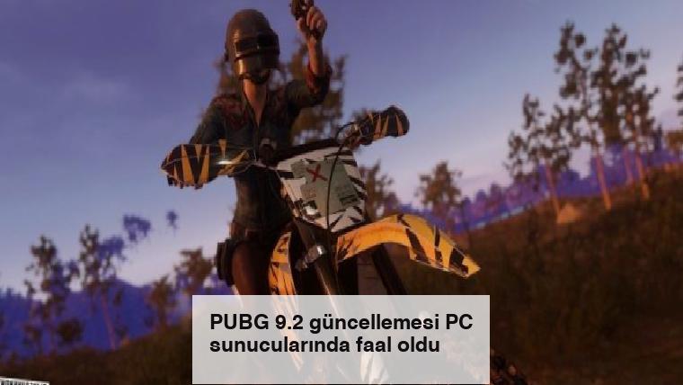 PUBG 9.2 güncellemesi PC sunucularında faal oldu