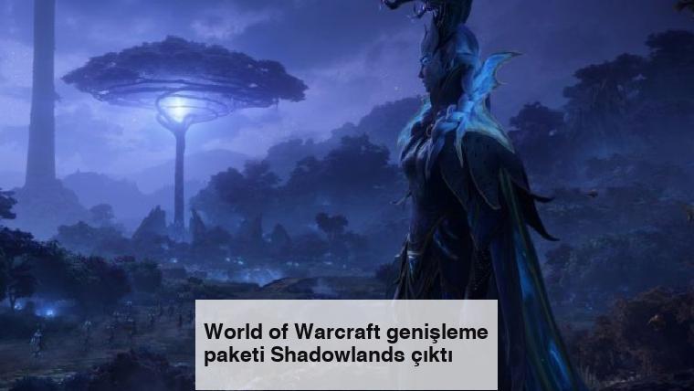 World of Warcraft genişleme paketi Shadowlands çıktı