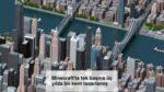 Minecraft'ta tek başına üç yılda bir kent tasarlamış