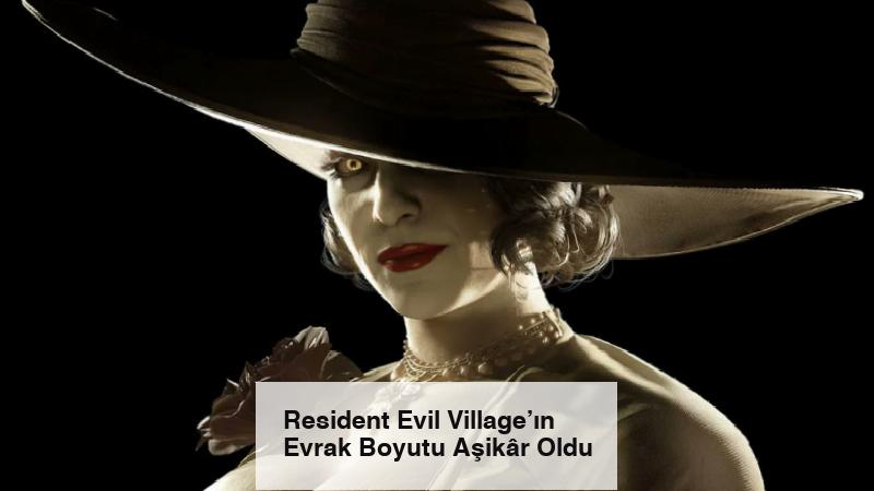 Resident Evil Village'ın Evrak Boyutu Aşikâr Oldu
