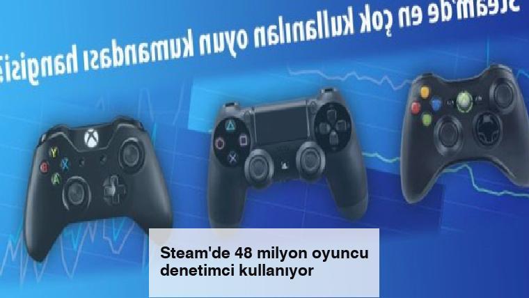 Steam'de 48 milyon oyuncu denetimci kullanıyor