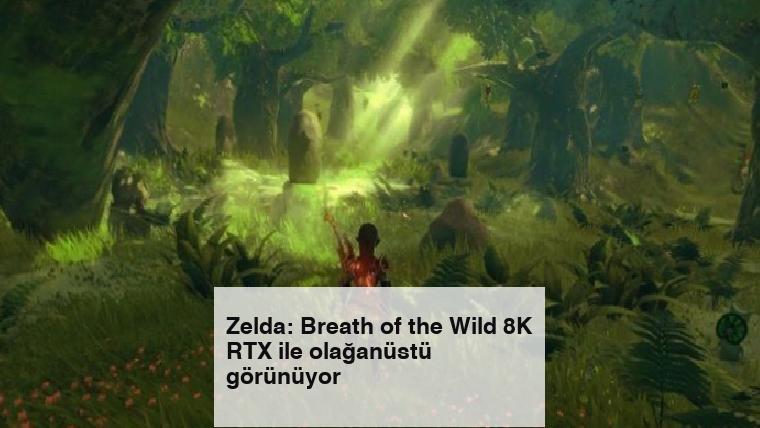 Zelda: Breath of the Wild 8K RTX ile olağanüstü görünüyor