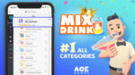 Ace Games'in Mix and Drink oyunu ABD App Store'unda tüm kategorilerde ilk sırada yer aldı
